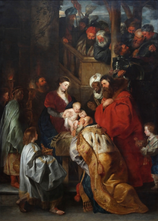 Public Domain Peter_Paul_Rubens_-_L'adoration_des_Mages