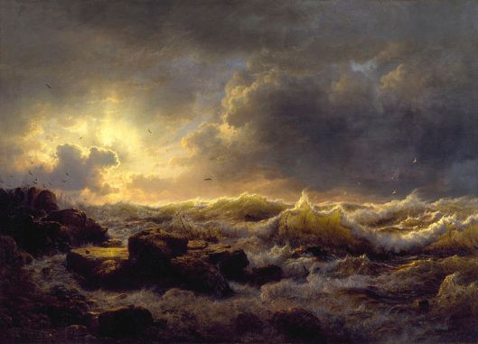 Andreas_Achenbach_-_Clearing_Up—Coast_of_Sicily_-_Walters_37116 wikicommons